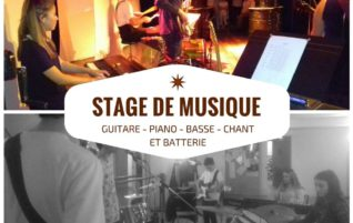 Stages instruments Aôut